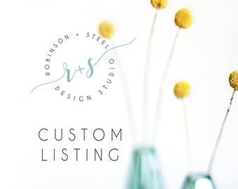 Custom Listing for Brittanie