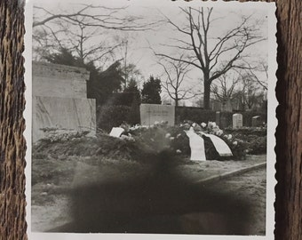 Original Vintage Photograph Death Shadow