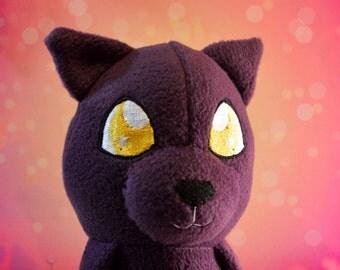 Twilight Kitty, 20in Plush Cat doll