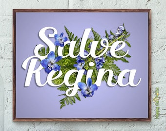Salve Regina Print