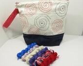 Patriotic Bag and Yarn Kit