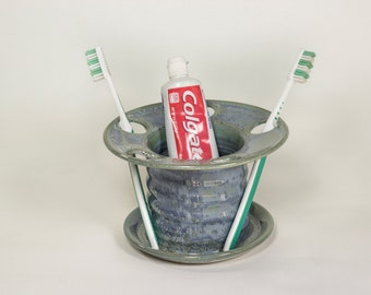 Cooper Blue Toothbrush Holder