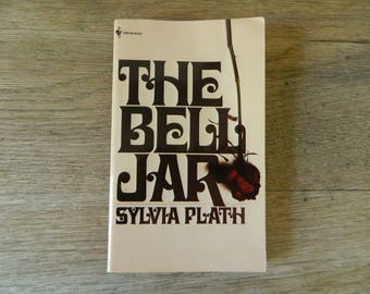 The Bell Jar by Sylvia Plath. 1981 vintage paperback.