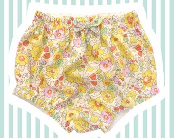 Liberty of London Nappy Covers | Yellow Betsy