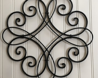 Iron Artwork Outdoor Outdoor Metal Art  Etsy