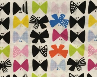 Cotton Fabric / Butterfly Fabric / Nursery Fabric / Butterfly Cotton Fabric / Quilting Fabric