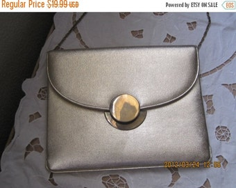 55% STORE WIDE SALE Vintage Handbag Purse Tagged Miss Lewis Gold Evening Bag 1950's Mid Century Special Occasion Prom Evening