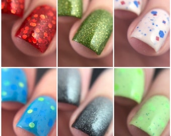Iconic Video Game Nail Polish Collection
