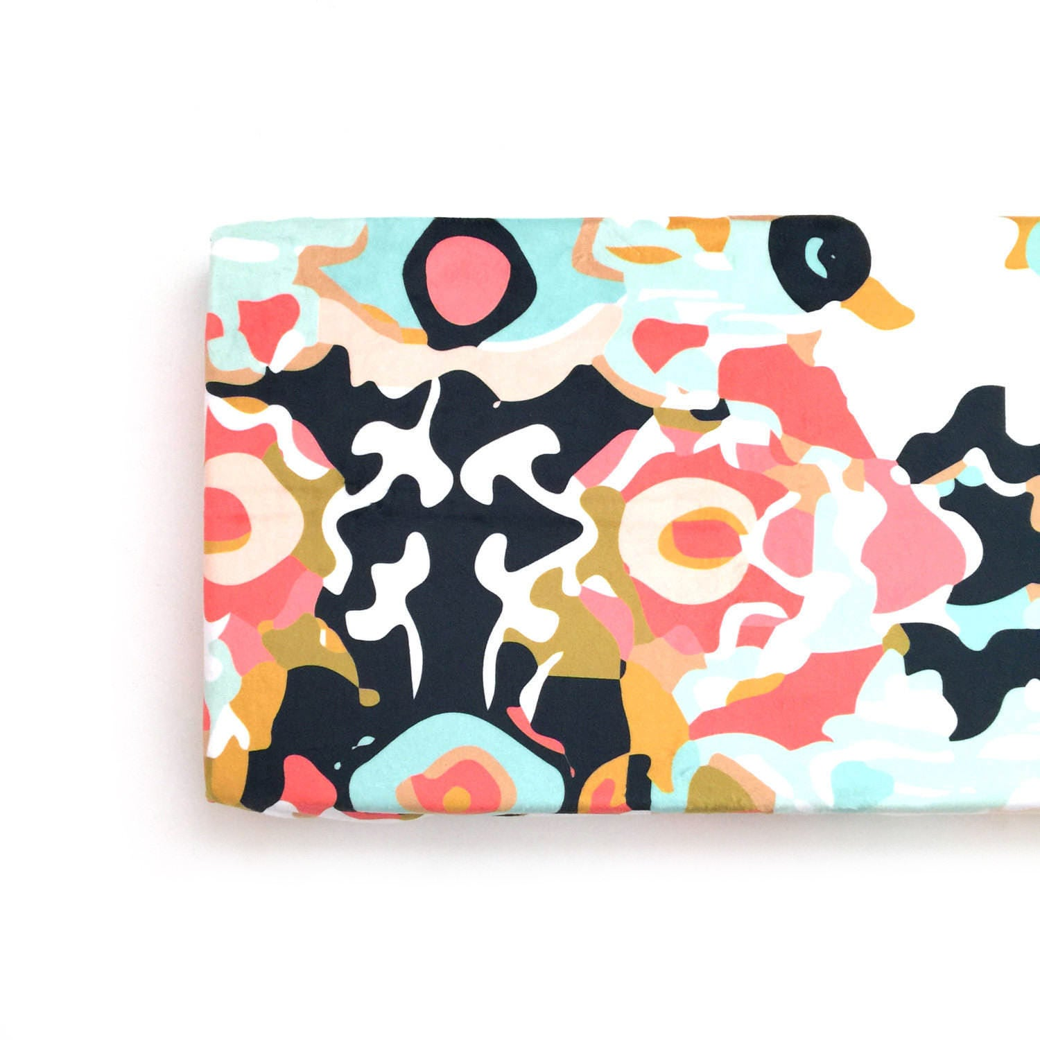 Changing Pad Cover Coral Jubilee. Change Pad. Changing Pad