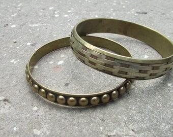 Pair of Vintage Bangles