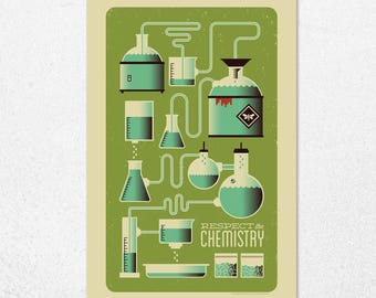Respect the Chemistry | 11x17 | Screen Print
