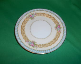"""One (1), 6 3/8"""", Porcelain, Bread & Butter Plates, from Noritake China, in the 1933 Juno Pattern."""