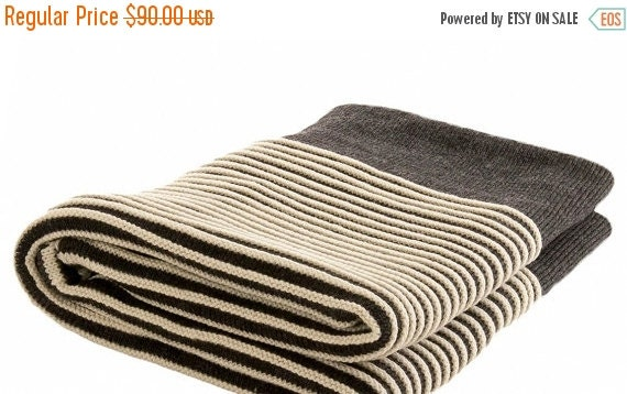 15 sale merino wool blanket plaid baby wool by aureliaboutique. Black Bedroom Furniture Sets. Home Design Ideas
