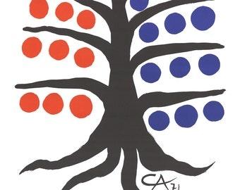 Alexander Calder-Maeght Editeur-1971 Lithograph