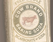 Sample Package Cow Brand Baking Soda Early 1900s