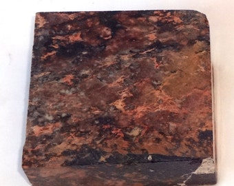 Marbled Carving Stone for Fetishes or Peace Pipe,Soap Stone  5NV