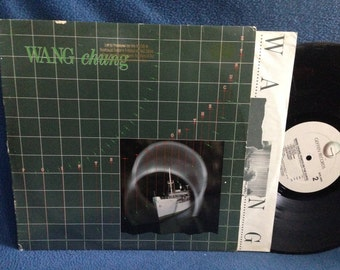 "Vintage, Wang Chung - ""Points On The Curve"" Vinyl LP, Record Album, New Wave, Electronic, Synth Pop, 1983, Everybody Have Fun Tonight"