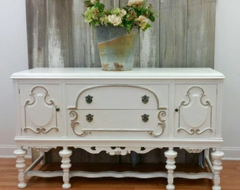 Vintage painted buffet