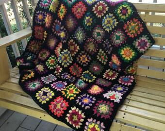 Colorful Vintage Blanket