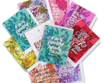 Box Set of 8 Verse Cards