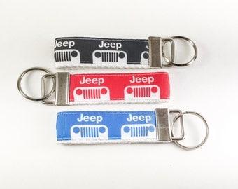 Mini Jeep Key Fob/Wristlet