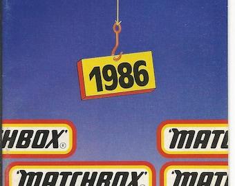 Vintage 1986 Matchbox Cars Catalog