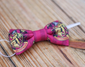 "The ""Gryffindor"" - Harry Potter Bow Tie"