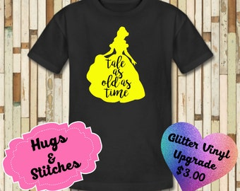 Belle Tale As Old As Time Shirt