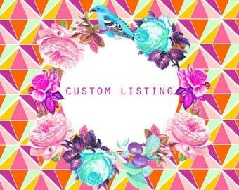 Custom order for Senisha / Rose gold shades multifunctional wallet