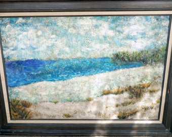 PRICE REDUCED! Seascape Painting on Canvas