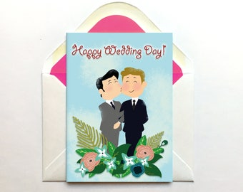 ... Wedding Gift, Wedding Day Card, Son and Son in Law, Card for Groom