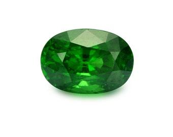 2.42ct Tsavorite Green Garnet Oval Shape Loose Gemstones (Watch Video) Free Shipping SKU 350