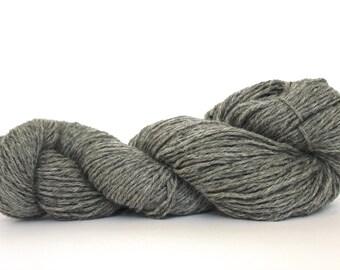 Gray Color  Alpaca/ Merino DK Weight Hand Knitting  Yarn