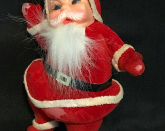 Christmas Vintage Old Santa Claus Doll