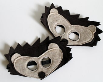Felt Hedgehog Mask for Kids