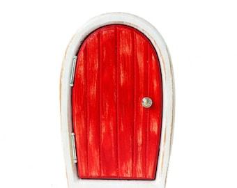 Wooden fairy door etsy for Secret fairy doors by blingderella