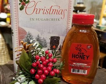 Raw Fall Honey  - 16 oz. Pure Honey Ohio Proud