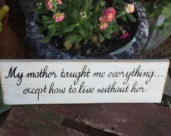 Mother Wood Sign for Home Decor