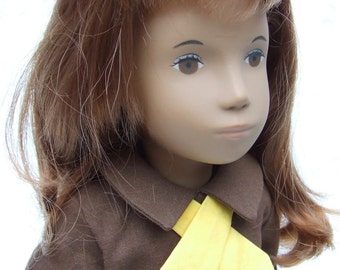 "Brownies Outfit for 16/17"" Sasha Doll"