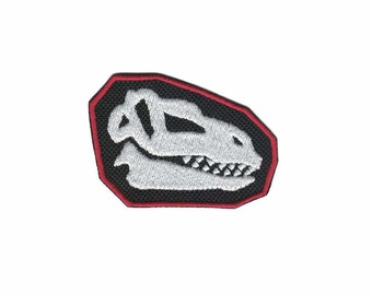 Dinosaur Patch Dinosaur Iron On Applique Iron On Patch