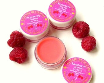 Raspberry Sorbet Moisturising Natural Lip Balm
