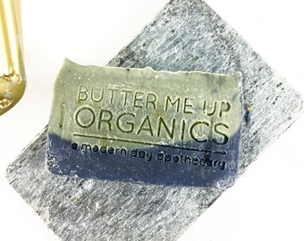 Lemongrass Mint with Activated Charcoal and French Green Clay