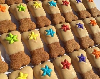 Gourmet Dog Treats - Best Friend Bones Decorated Dog Treats