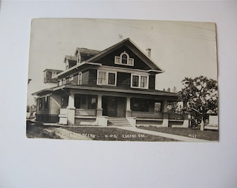University of Oregon   Eugene OR   1918  Delta Fraternity House  used Post card