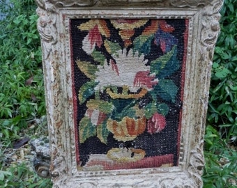 Antique French,  Aubusson Tapestry, 17 th Century, Antique Tapestries , Tapestry Picture, 1600's, Decorative Antiques French Interior Design