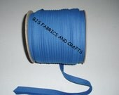"""12 Yards EXTRA WIDE 1/2"""" Double Fold Royal BLUE Bias Tape"""