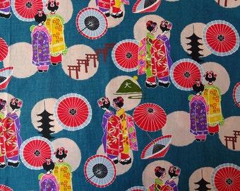 Kyoto Geisha fabric