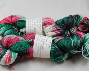Holiday Cheer Captain SW 100% superwash merino worsted yarn