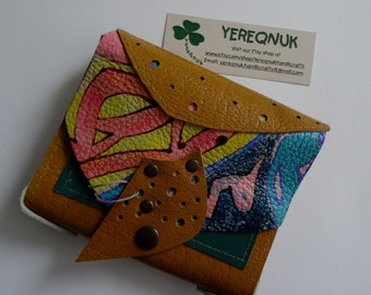 Authentic handmade leather purse