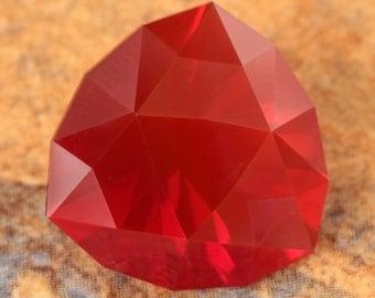 7.86 Carat Mexican Fire Opal Gemstone Precision Cut Gem